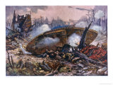 Captain Inglis's Tank Giclee Print by Alfred Pearse
