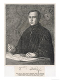 Augustus Welby Northmore Pugin English Architect and Designer Who Championed the Gothic Style Giclee Print by J.r. Herbert