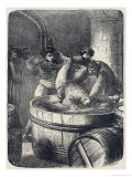 The Duke of Clarence is Drowned in a Butt of Malmsey Giclee Print by Philip Poteaux