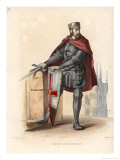 Simon de Montfort Soldier and Statesman Giclee Print by Langlois 
