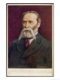 James Russell Lowell American Poet Essayist and Diplomat Giclee Print by Cw Quinnell