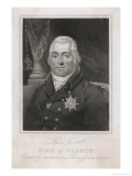 Louis XVIII of France Giclee Print by G. Kellaway