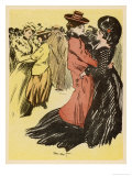 Lesbian Dance Hall Paris Giclee Print by  Minartz