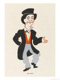 Dan Leno Music Hall Entertainer Giclee Print by Elizabeth Pyke