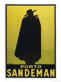 Sandeman Port, The Famous Silhouette Giclee Print by Georges Massiot