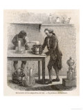 Antoine-Laurent Lavoisier French Chemist and Founder of Modern Chemistry Giclee Print by L. Richard