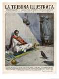 Former Emperor Ligg Yasu is Held in Captivity by Negus Giclee Print by Vittorio Pisani
