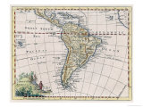 Map of South America Giclee Print by T. Jefferys