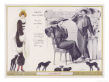 Astrakhan Fur Coat 1912 Giclee Print by Jacques Nam