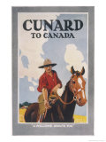 Cunard to Canada, a Welcome Awaits You Giclee Print by Frank Newbould