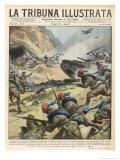 Libyan Volunteers Help Italians to Victory Giclee Print by Vittorio Pisani
