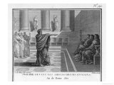Philip of Macedon Reproaches Roman Ambassadors for the Way They Treat Him Giclee Print by Patas 