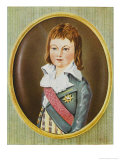 Louis XVII Titular King of France 1793-1795 Son of Louis XVI Giclee Print by Alexander Kucharski