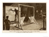 The Filming of King Kong Premium Giclee Print by J. Simont