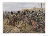 The Battle of Hanau Giclee Print by R Knoetel