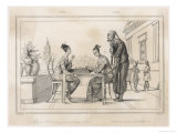 Chinese Ladies Playing Chess on the Island of Timor Giclee Print by Langlois 
