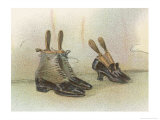 Shoes 1899 Reproduction procédé giclée par Dudley Hardy