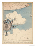 Speeding Will be Just as Much an Offence in the Sky as Giclee Print by Albert Guillaume