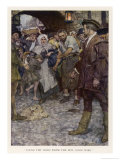 The Prince Dressed as a Pauper is Accused of Theft Giclee Print by William Hatherell