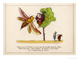 There was an Old Man in a Tree Who was Horribly Bored by a Bee Giclee Print by Edward Lear