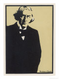 Study of Sir Henry Irving Giclee Print by Scotson-clark