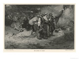 Morgan's Men Sack the Spanish- Held City of Panama Giclee Print by Howard Pyle
