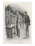 The Adventure of the Crooked Man Giclee Print by Sidney Paget
