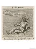 Eridanus Giclee Print by Gaius Julius Hyginus