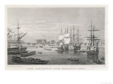 Limehouse Dock Giclee Print by F.j. Havell