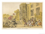 Bees Dr. Syntax and the Bees Giclee Print by Thomas Rowlandson