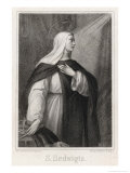Saint Hedwig Giclee Print by Heinrich Nuffer