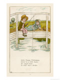 Little Tommy Tittlemouse Lived in a Little House Giclee Print by Kate Greenaway