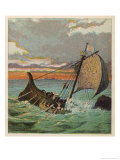 Wreck of the White Ship Giclee Print by Joseph Kronheim
