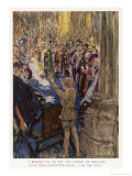 The Coronation Ceremony is Interrupted Giclee Print by William Hatherell