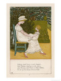 Johnny's New Bonnet Giclee Print by Kate Greenaway