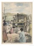 Steam Cars Madagascar Giclee Print by P.h. Repp