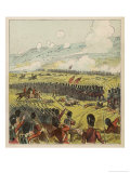British Troops in Action at the Battle of the Alma Giclee Print by Joseph Kronheim