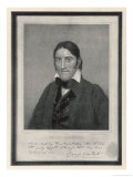 Davy Crockett American Backwoodsman Hunter Magistrate and Legislator Giclee Print by S.s. Osgood