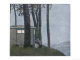 Caravan at Nightfall Giclee Print by Andre Marty