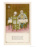 Jack Sprat Giclee Print by Kate Greenaway
