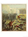 French and British Armies Lay Siege to Sebastopol Defended Ultimately in Vain by the Russians Giclee Print by Joseph Kronheim