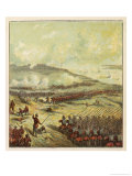 British Troops at the Battle of Inkerman Giclee Print by Joseph Kronheim
