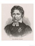 Frans Michael Franzen Swedish Poet Giclee Print by Svald Hansen