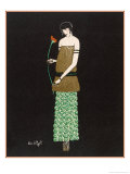 Tunic Dress by Paul Poiret Giclee Print by Simone A. Puget