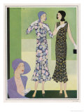Dresses by Regny 1930 Giclee Print by M. Haramboure