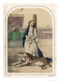 Tiger Knows Slave Girl Giclee Print by Louis Lassalle