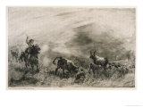 Stealing Cattle Giclee Print by R.w. Macbeth