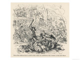 The Anti-Catholic Gordon Riots in London Giclee Print by  Phiz