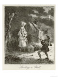 Francis Smith Shoots Thomas Milwood a Bricklayer Giclee Print by  Phiz