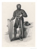 William I the Conqueror Dressed for Conquest in His Suit of Mail Giclee Print by Guilleminot, Guilleminot